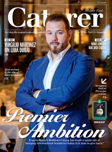 Caterer Middle East - May 2019