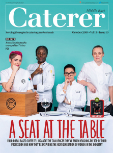 Caterer Middle East - October 2019