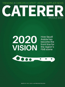 Caterer Middle East - January 2020