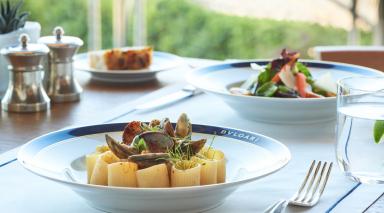 Bvlgari Yacht Club restaurant celebrates World Pasta Day