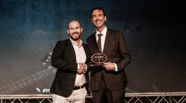 James Knight-Pacheco cooks up a win at the Hotelier Middle East Awards