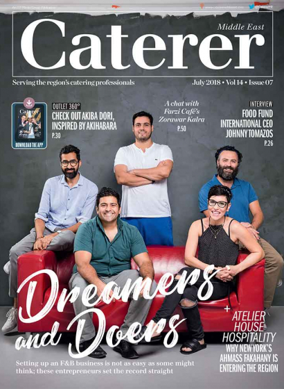 Caterer Middle East - July 2018