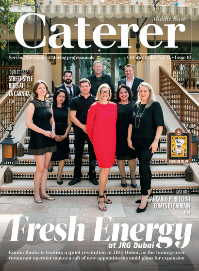Caterer Middle East - October 2018