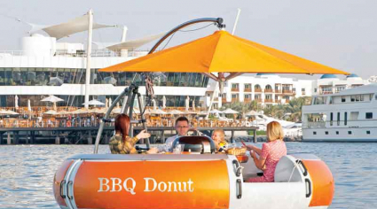 Floating BBQs to make a big splash on Dubai Creek