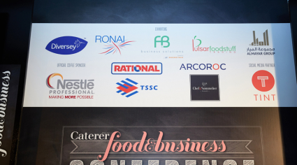 PHOTOS: Caterer Middle East Food and Business Conference 2018 sponsors