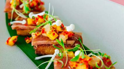 Dish 360: Pierre's Bistro & Bar's tuna tataki