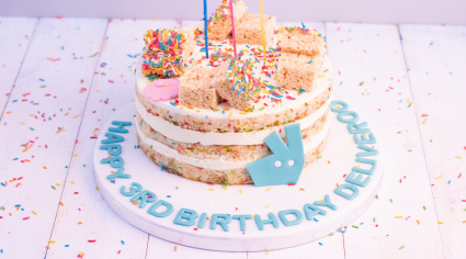 Deliveroo giving free cake to UAE customers for its birthday