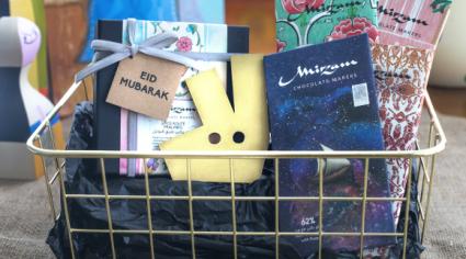 Mirzam delivering Eid Al Fitr hampers through Deliveroo