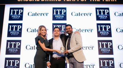 Victory for the no frills grill at Caterer Middle East Awards