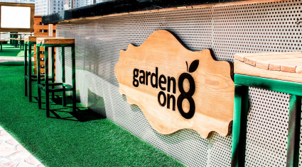 Dubai's Garden on 8 hosting double brunch