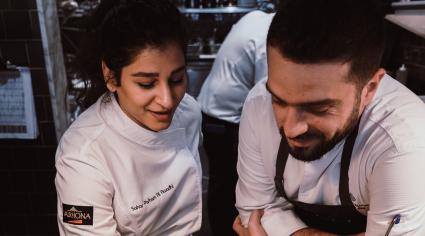 Michael Mina and Sahar Parham collaborate for Off the Menu
