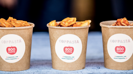 Dubai 'pasta in a cup' concept gets physical location downtown