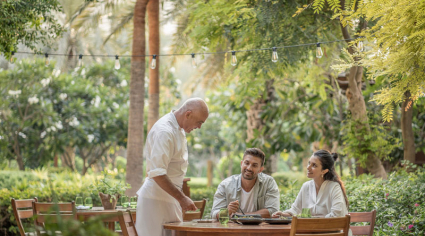 Prince Khaled launches vegan menu Folia at Four Seasons Resort Dubai