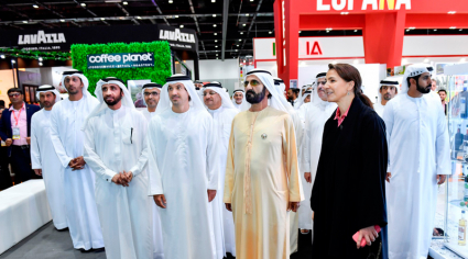 Sheikh Mohammed tours Gulfood 2020