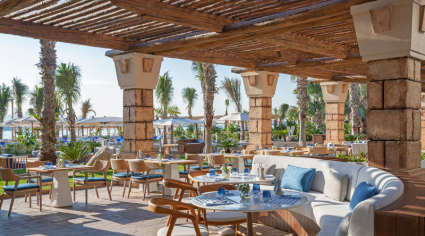 White Beach restaurant at Atlantis, The Palm updates seafood menu