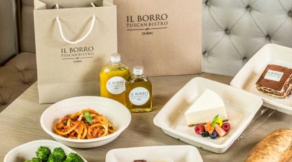 PHOTOS: Il Borro Tuscan Bistro delivery service