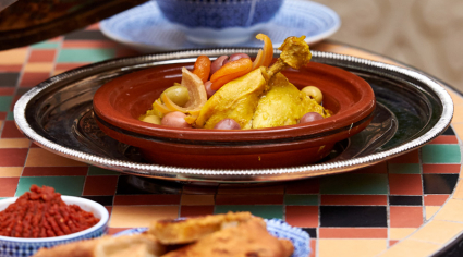 How to make chicken tagine makful from One&Only Royal Mirage