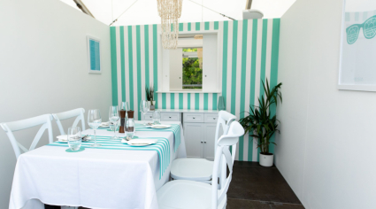British hotel builds 'anti-social' restaurant around social distancing requirements