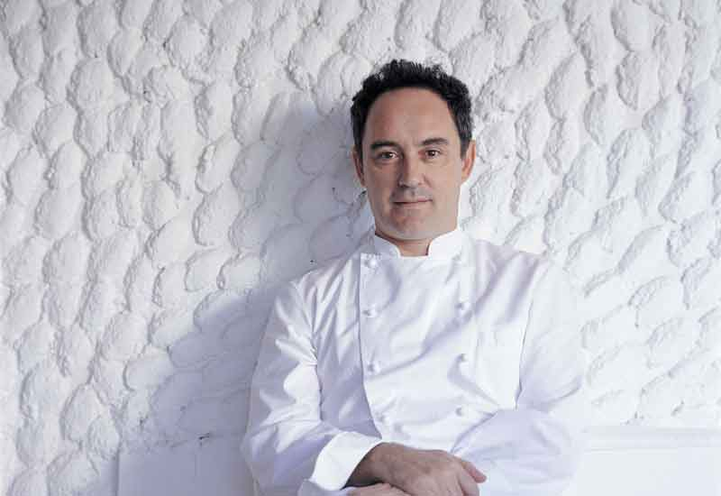 Ferran Adria: taking a break from El Bulli.