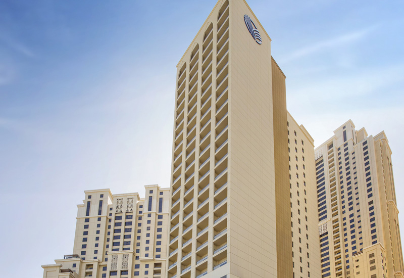 Located in JBR, the property offers 301 guest rooms.