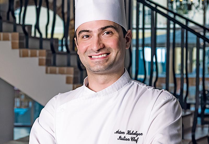 Artyom Hakobyan, chef, Cucina, Courtyard by Marriott Dubai Green Community.