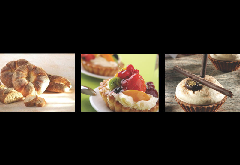 Baked goods from Puratos, Rich flavours from the Wagner by Aramtec.