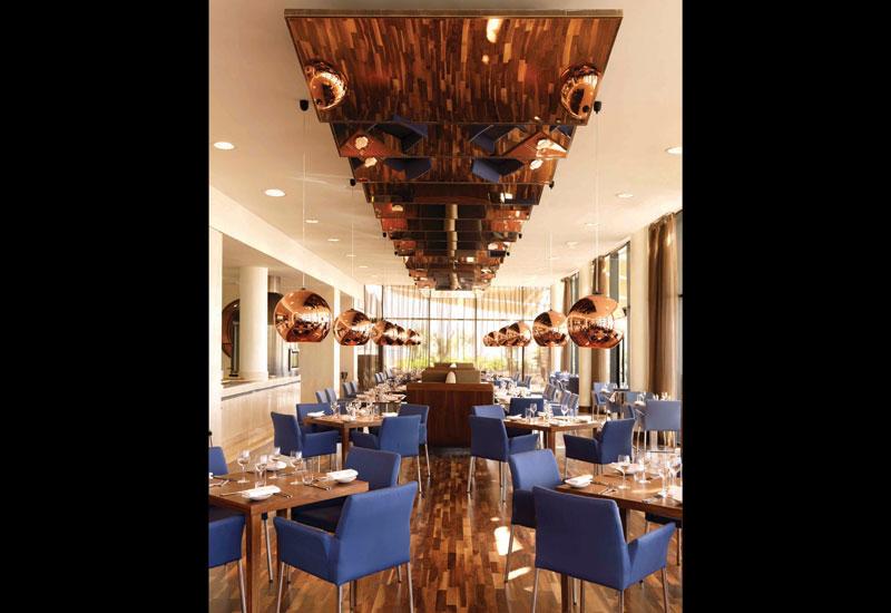 Filini restaurant at Radisson Blu Hotel, Abu Dhabi Yas Island.