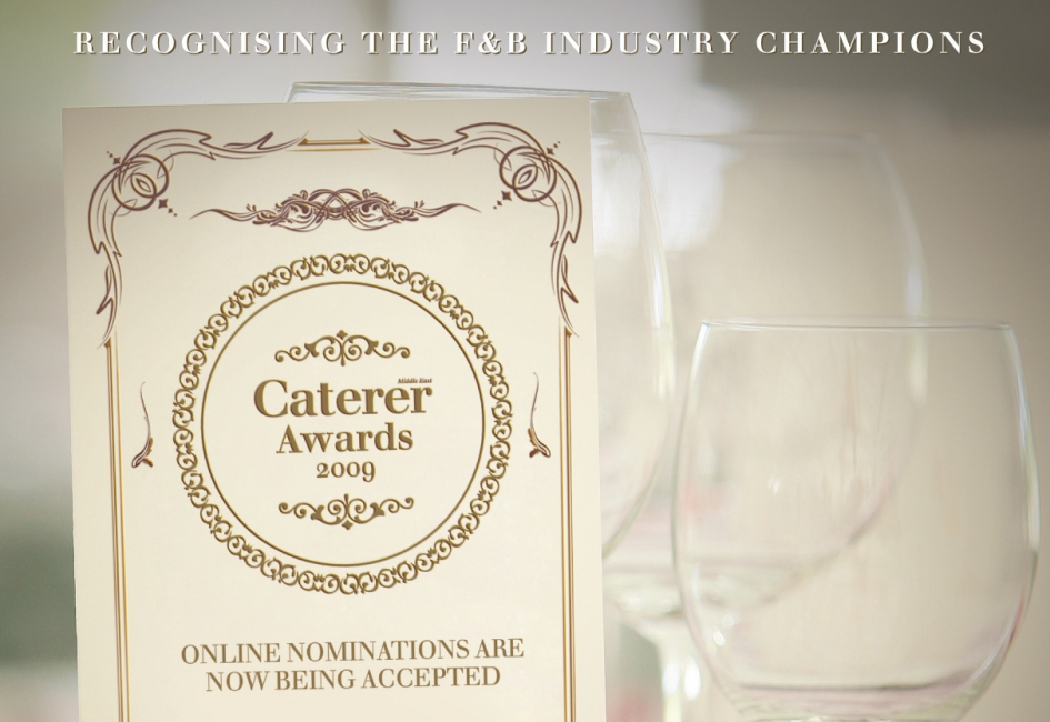 Nominations for the Caterer Awards will close on September 30.