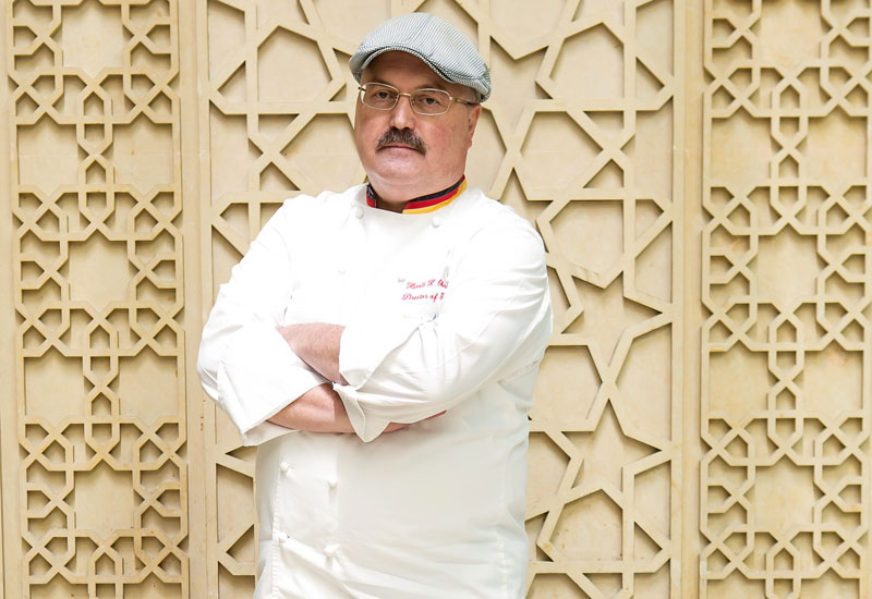 Harald Oberender is director of kitchens for Dubai World Trade Centre.