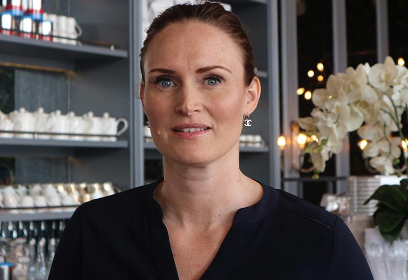 Restaurant manager Cecilia Sump