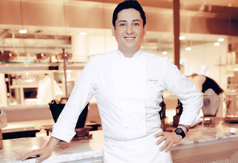 Chef Fabien Gailly.