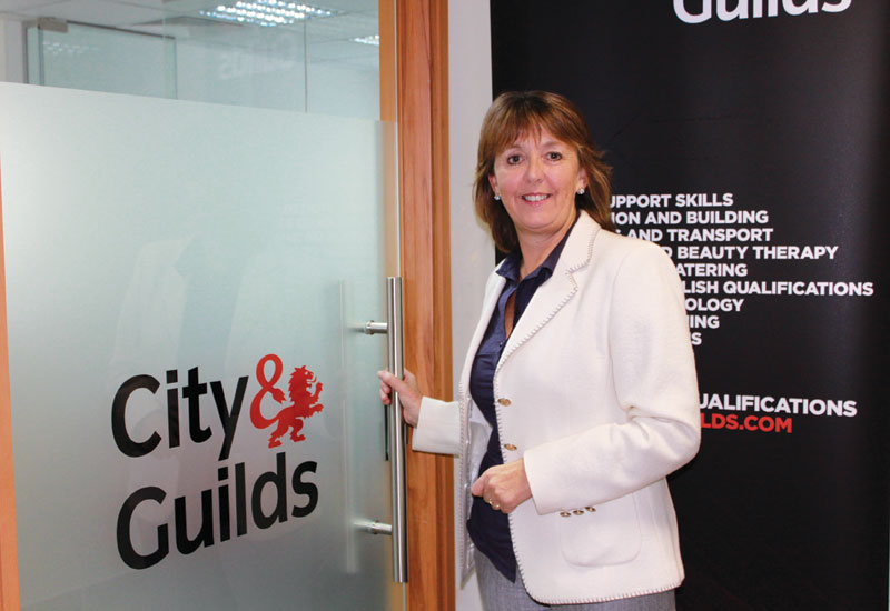 City & Guilds' Amanda Kelleher.
