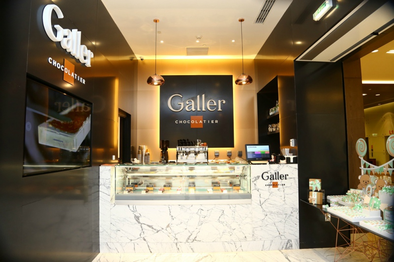 Galler Chocolatier opens first boutique and tea room at Mall of Qatar.