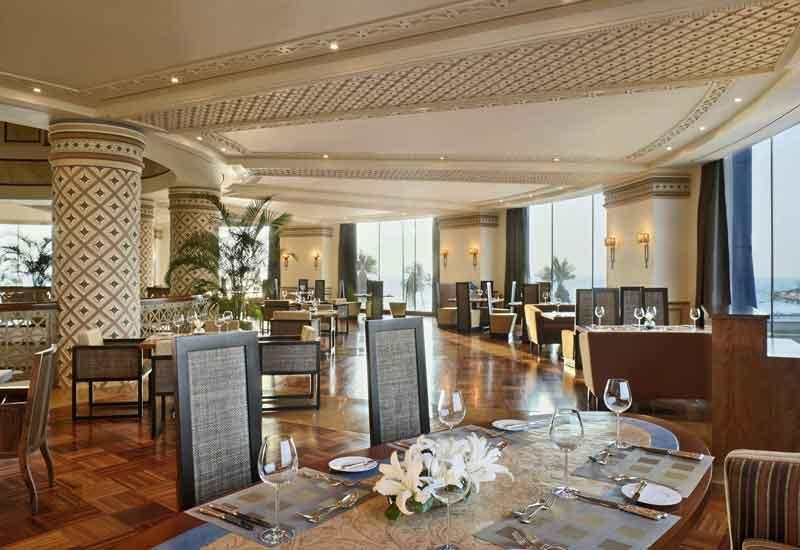 Rosewood Corniche's Habsburg restaurant.