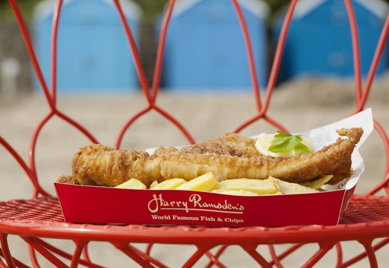 FOOD & BEVERAGE, Harry Ramsden's, Harry Ramsden's fish and chips in Saudi Arabia