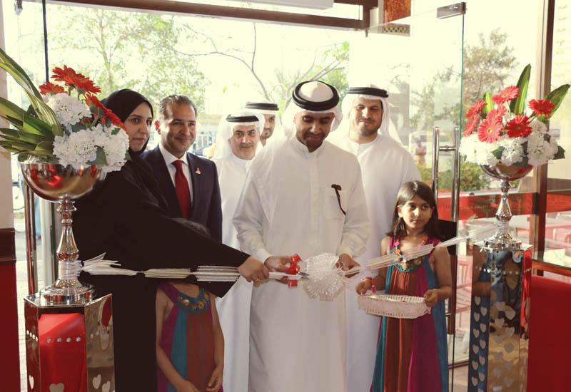 Sheikh Mohammed Bin Humaid Al Qassimi inaugurates second Café Barbera outlet in RAK.