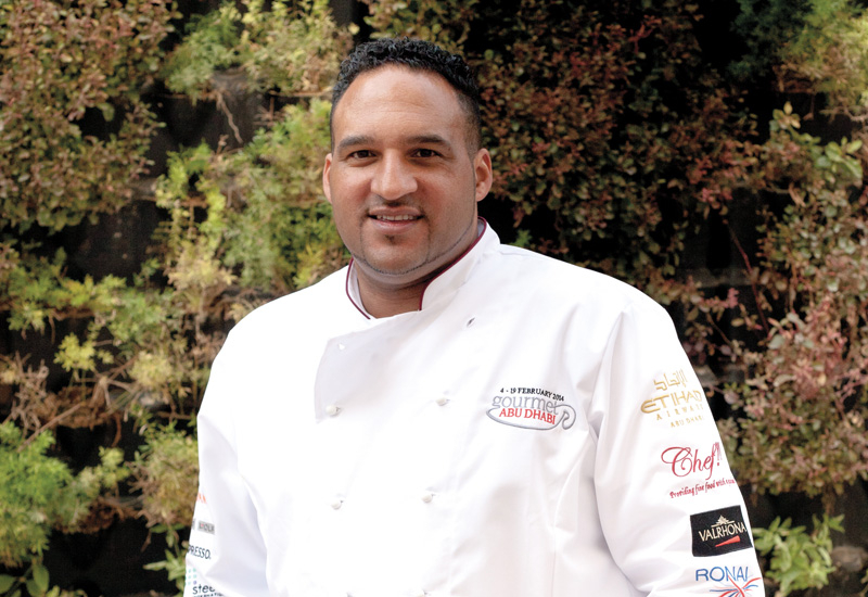 Michael Caines in Abu Dhabi, in 2014