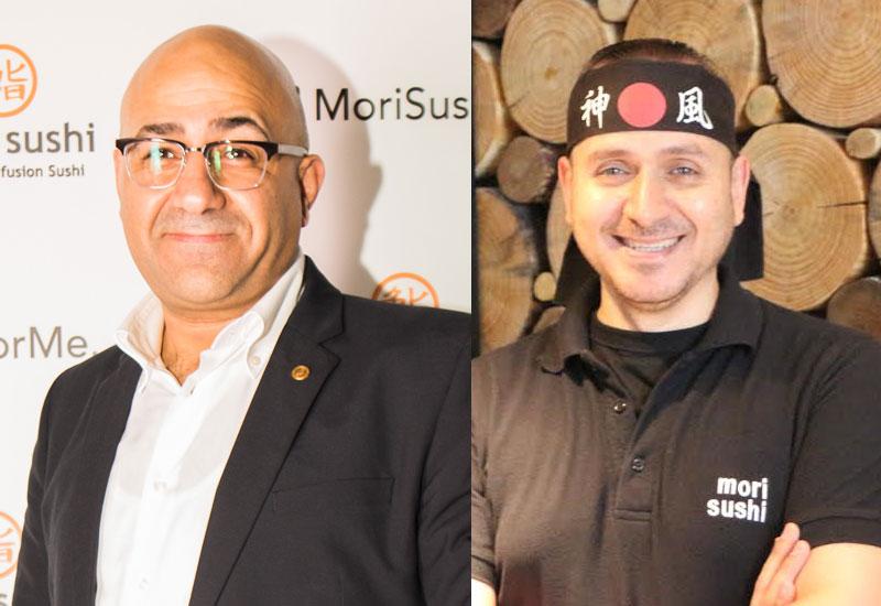 (L-R) Emad Marwan — restaurant manager and Wael Abdelrahman — head chef