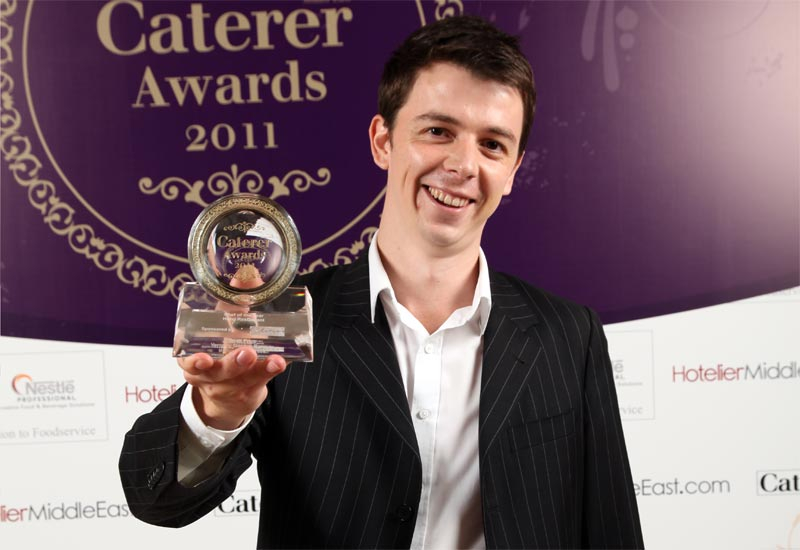 Scott Prices voted best hotel restaurant chef