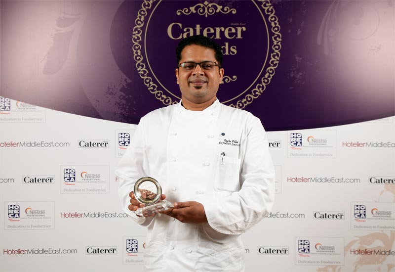 Sous Chef of the Year Raghuprasad S. Pillai