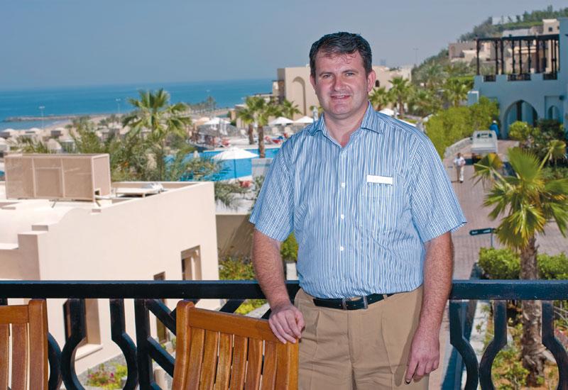 Cove Rotana Resort director of F&B Armin Weller.