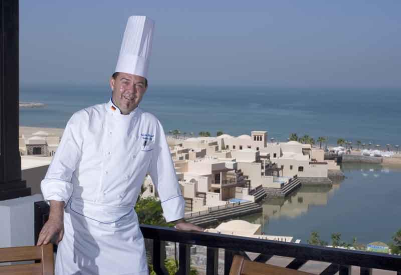 Cove Rotana executive chef Thomas Gerasch.