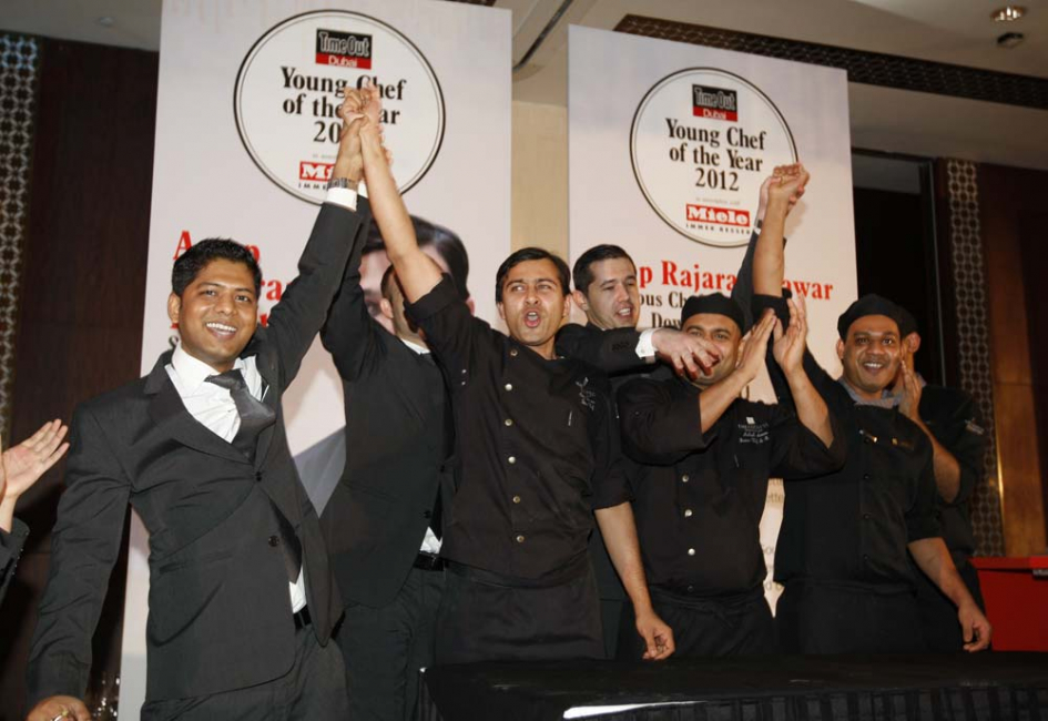 Time Out Dubai Young Chef of the Year 2012 chef Anup Pawar, sous chef at The Address Downtown Dubai.