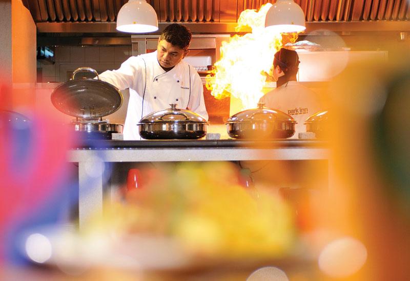 Park Inn Muscat executive chef Sandeep Kamal.