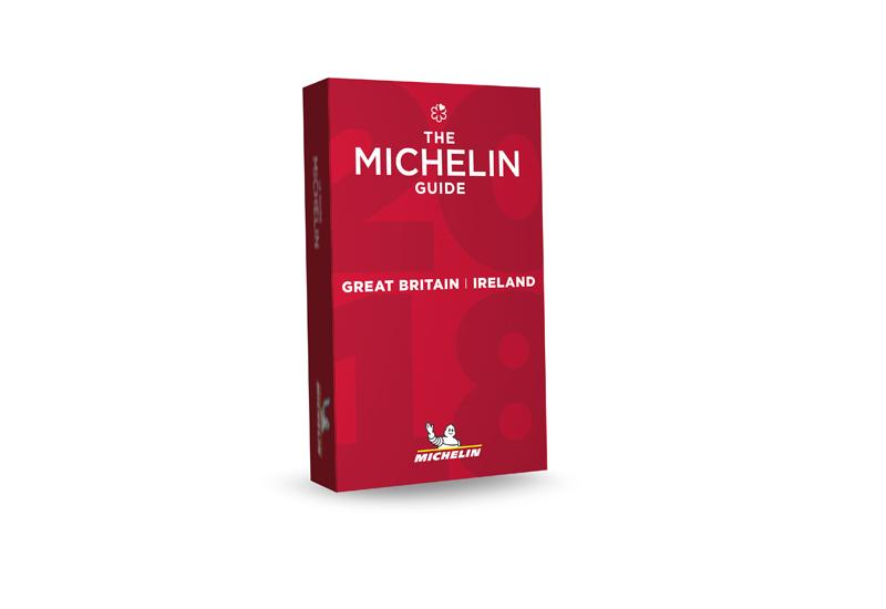 Michelin Guide Great Britain & Ireland 2017 cover.