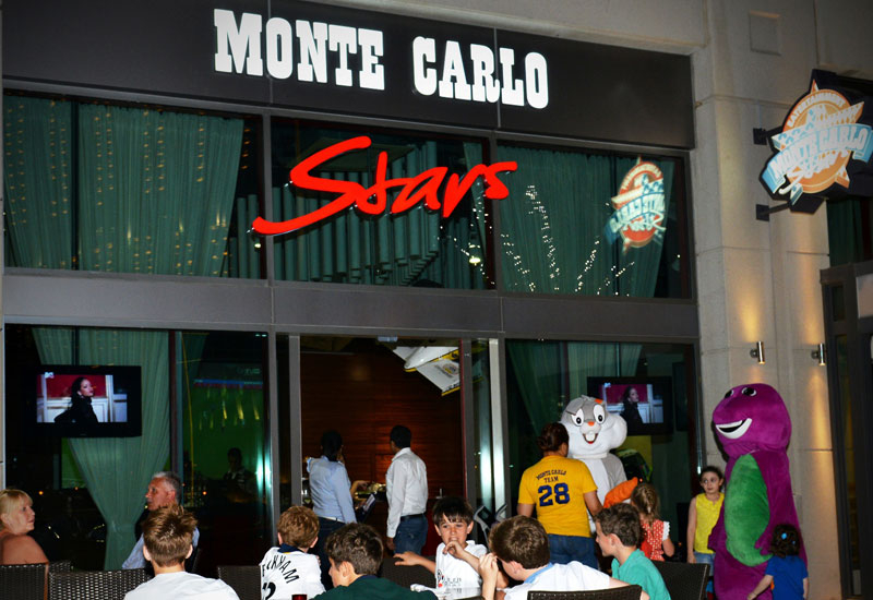 Monte Carlo Stars aims to be an entertainment-centric dining destination