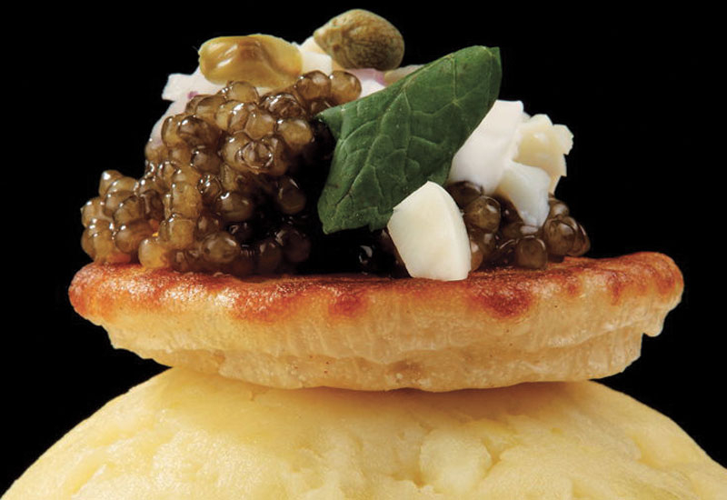 Caviar from Gourmet House.