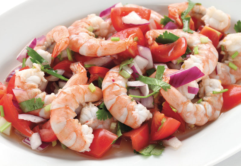 Traditional recipes can be used in seafood as well.