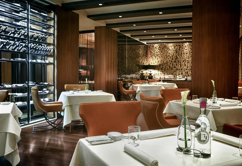 The new Amador Restaurant and Celler at Park Rotana Abu Dhabi