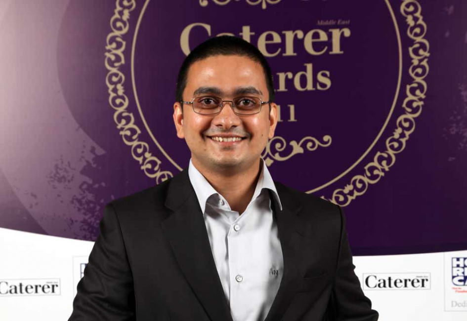 Restaurant Manager of the Year Arun Narayanan